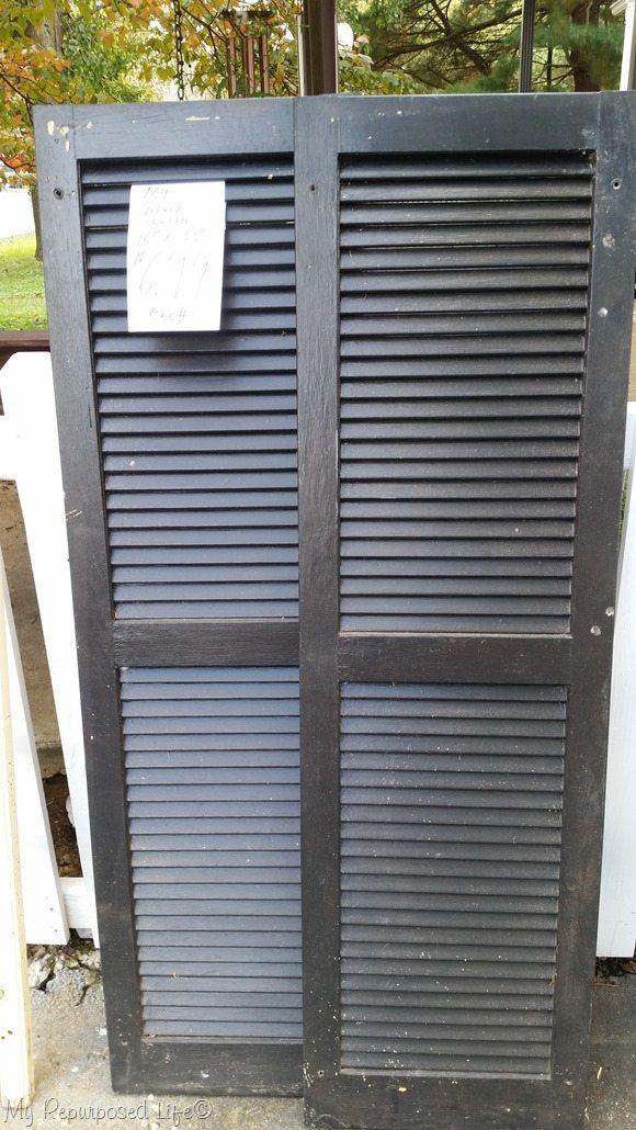 vintage shutters