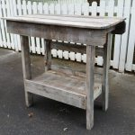 salvaged wood outdoor bar | kitchen island