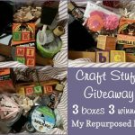 Craft Stuff Giveaway 3 Boxes 3 Winners