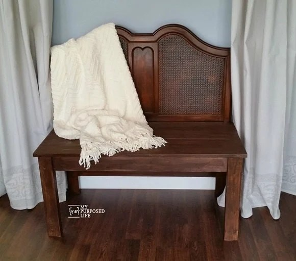 drop cloth grommet paint roller stamp curtains MyRepurposedLife.com