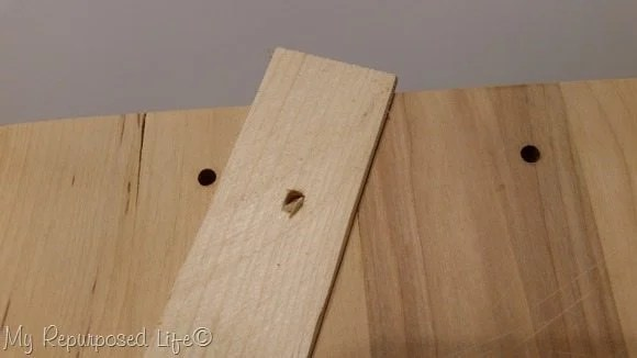 prevent tear out when drilling