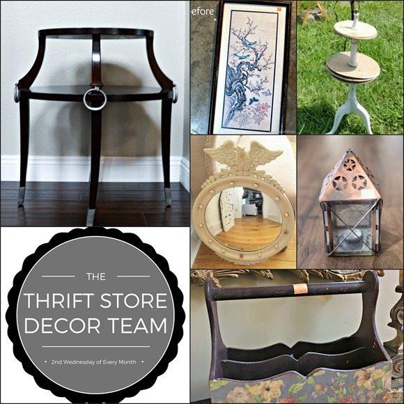 thrift store decor team challenge January 2017
