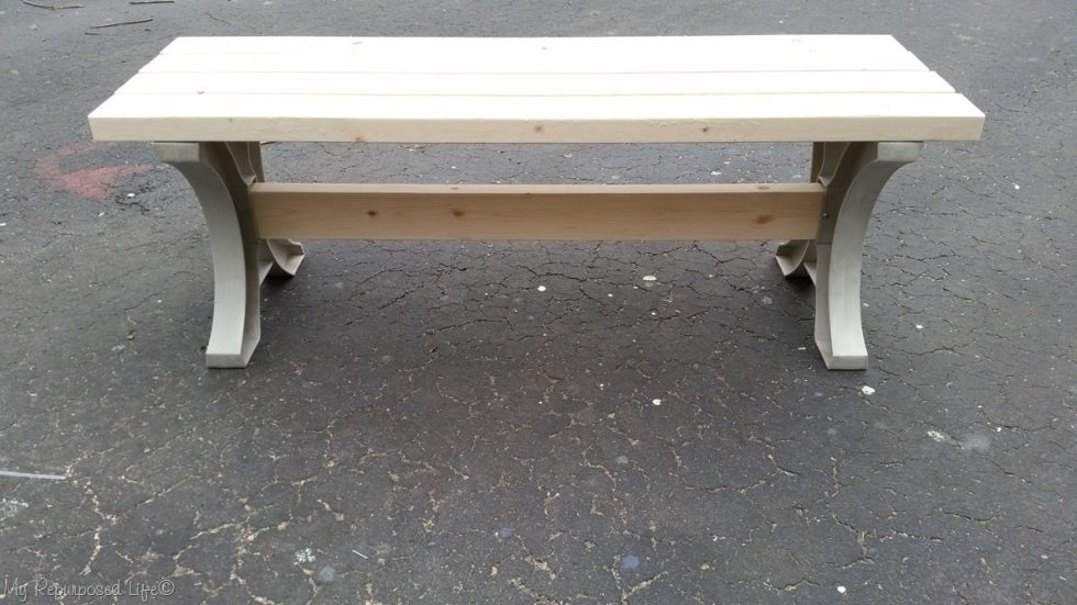 2x4 hopkins table bench