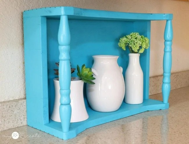 crate used for decor