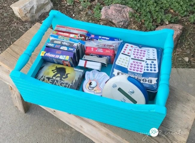 crate for holding card games