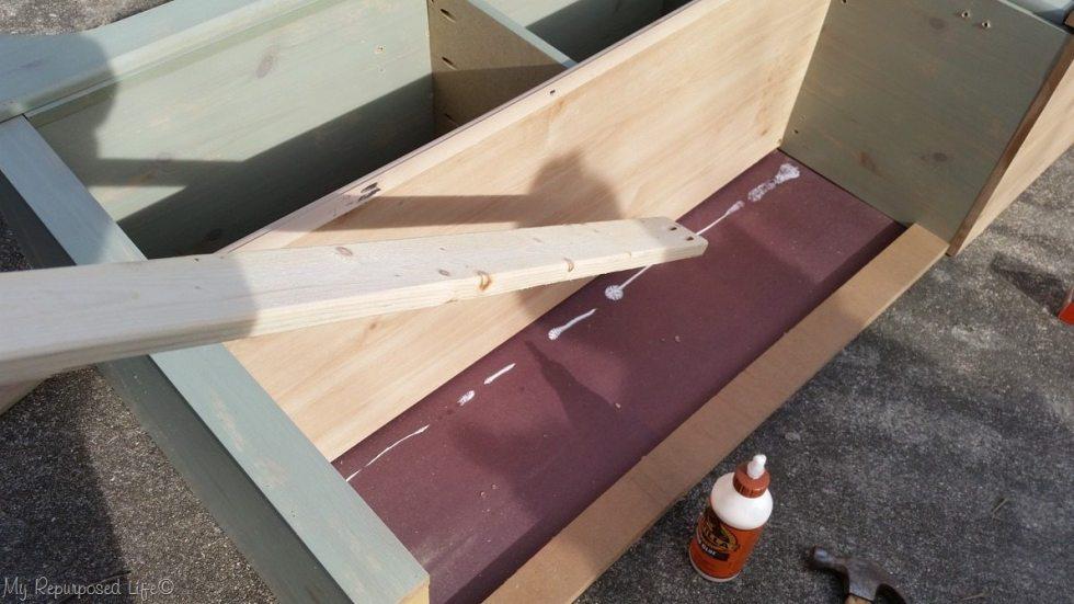 strengthen dresser bench
