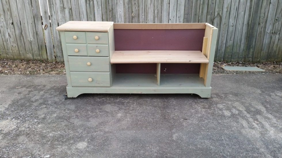 support dresser bench seat