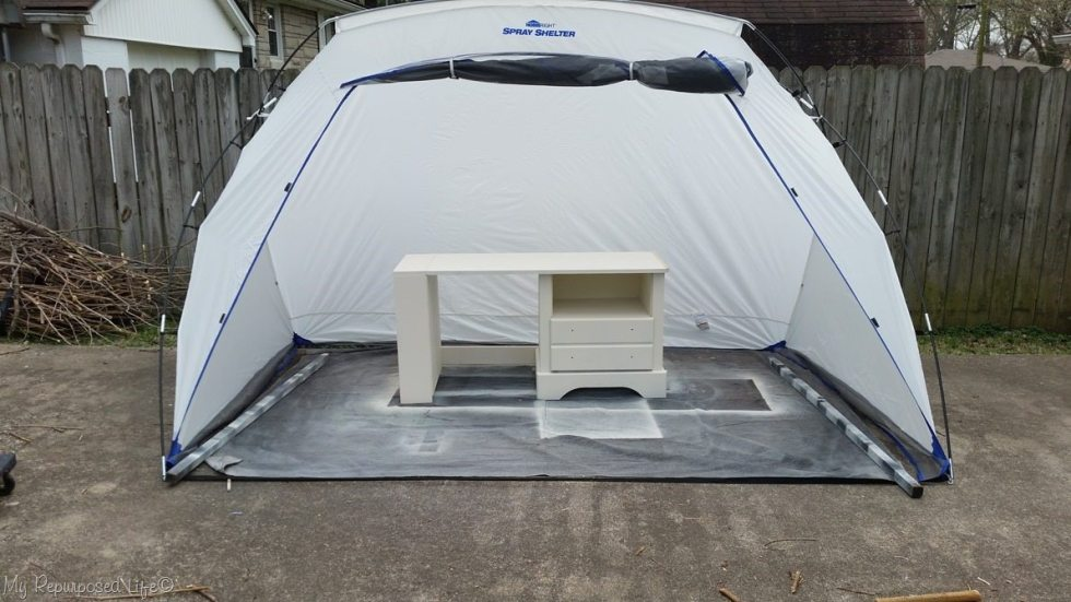 homeright spray shelter