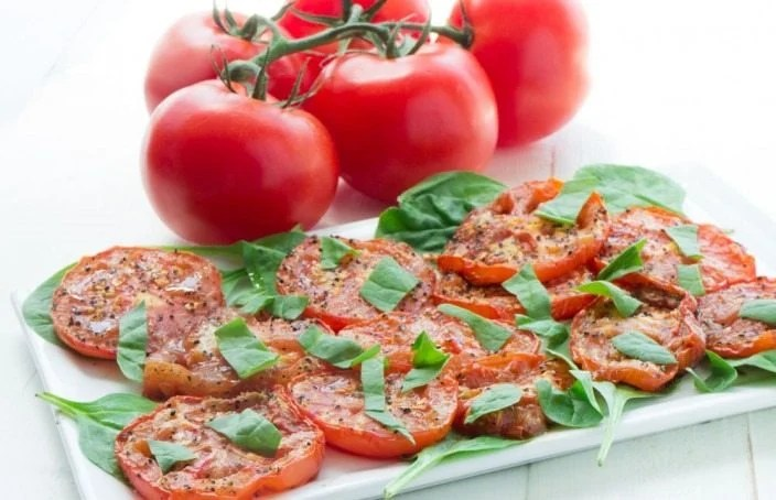 Roasted-Tomato-Salad