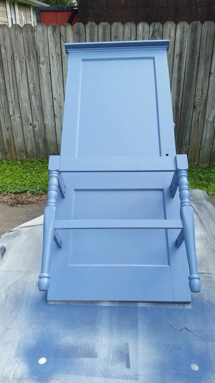 diy chalky paint primer entry table