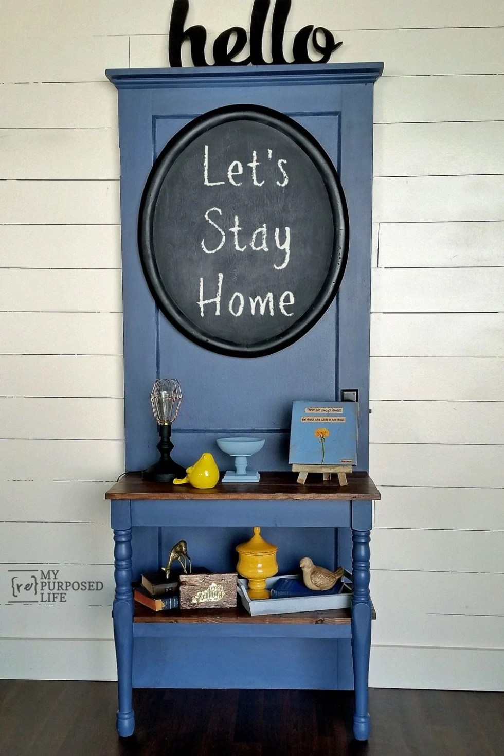 Diy Entry Table My Repurposed Life Rescue Re Imagine Repeat