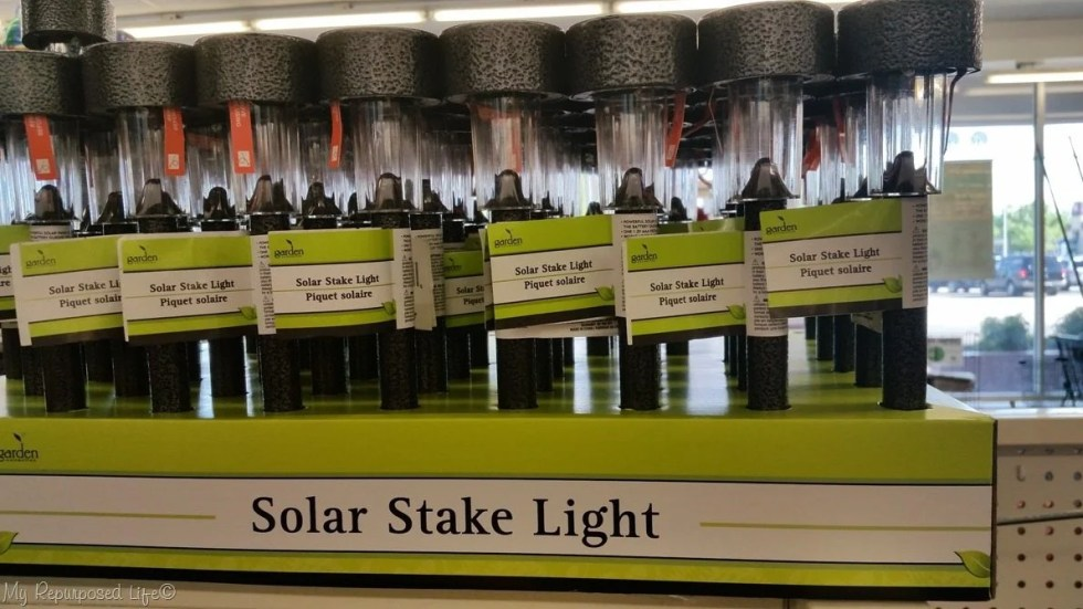 dollar store solar lights