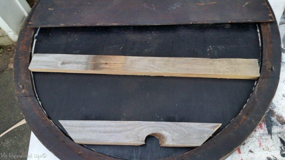 filler for thick frame