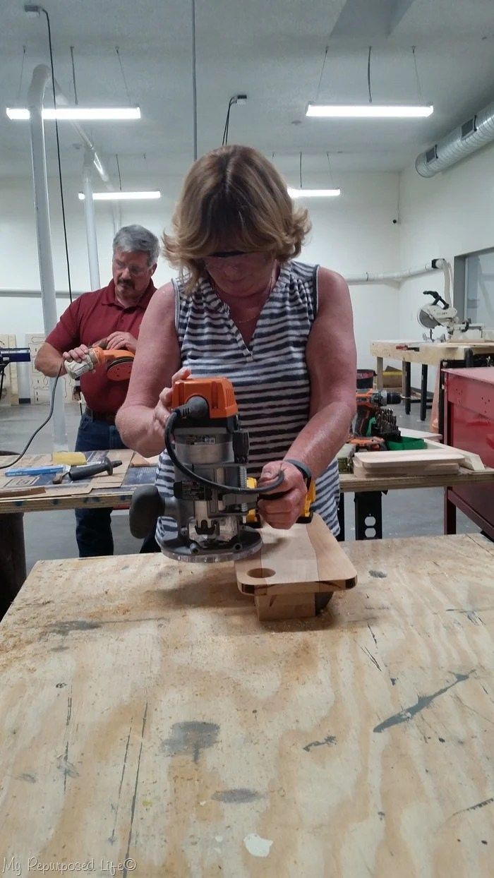 gail wilson using router