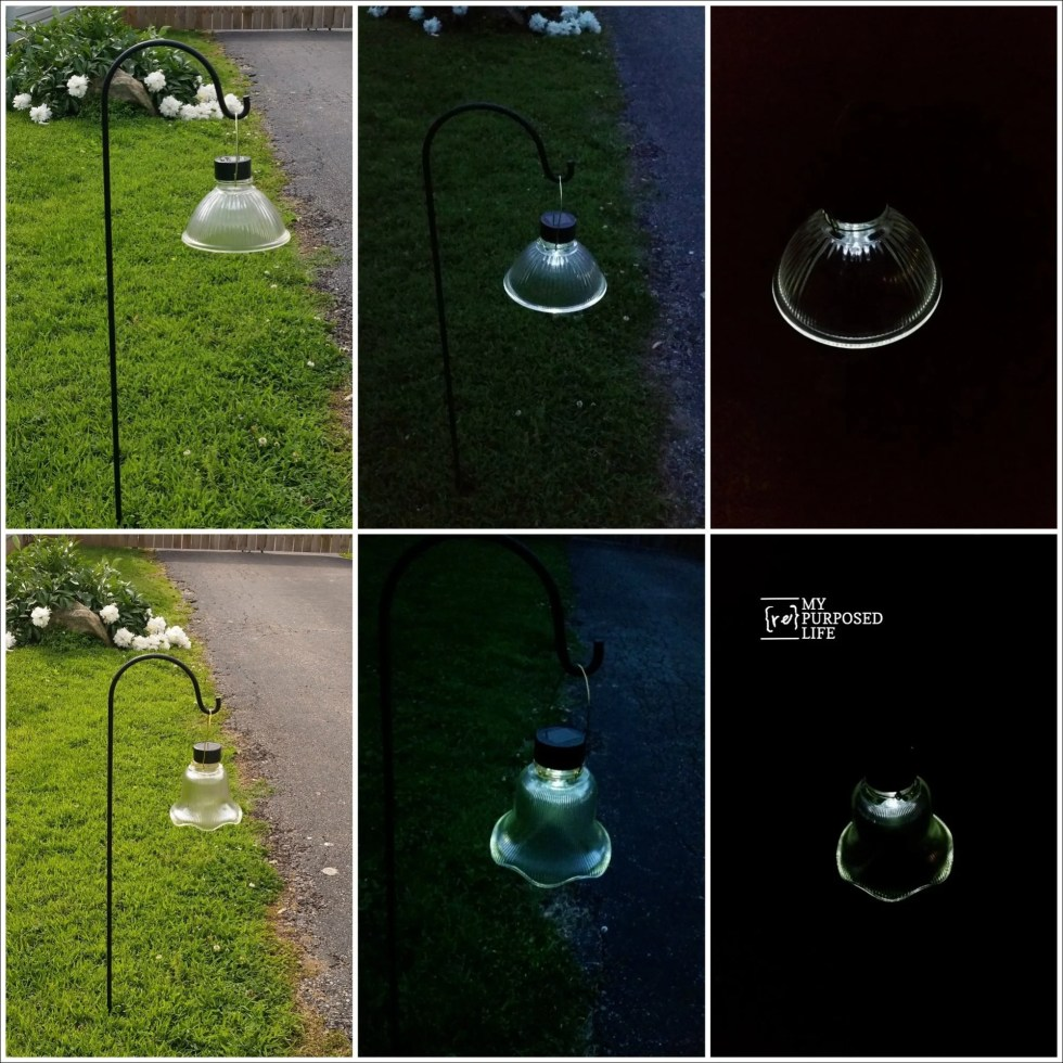 more glass globe solar lights MyRepurposedLife.com