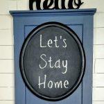 Oval Frame Redo Chalkboard