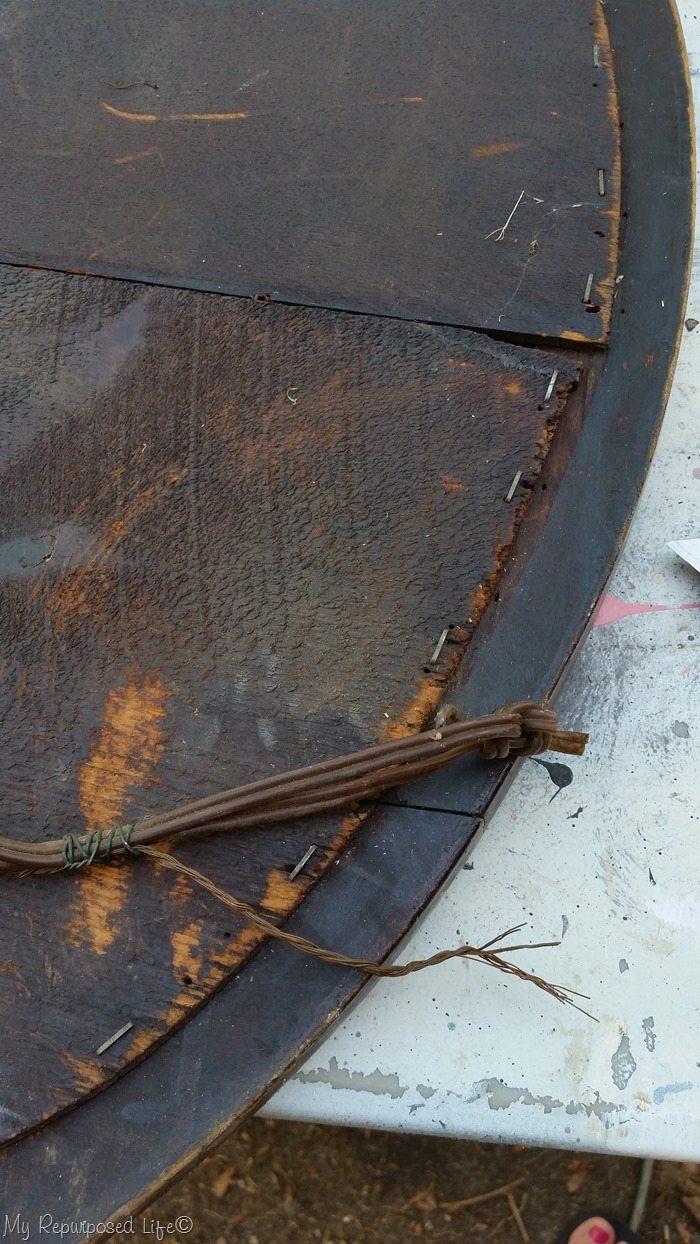 remove wire hanger