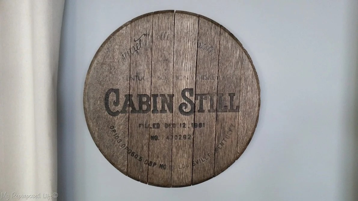 Whiskey Barrel Lid Makeover My Repurposed Life 174 Rescue