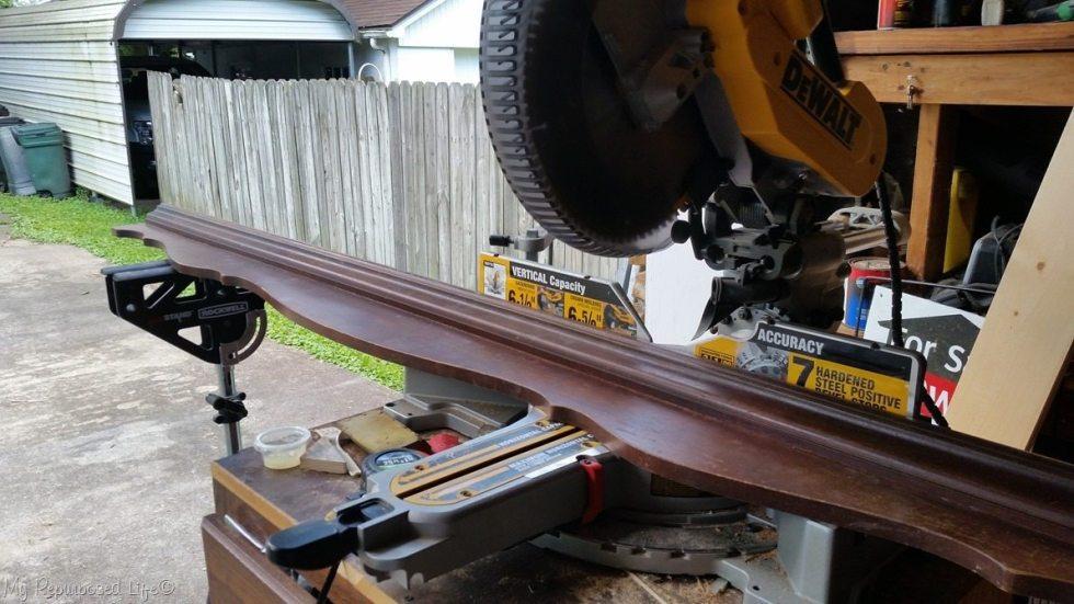 cut pediment compound miter saw