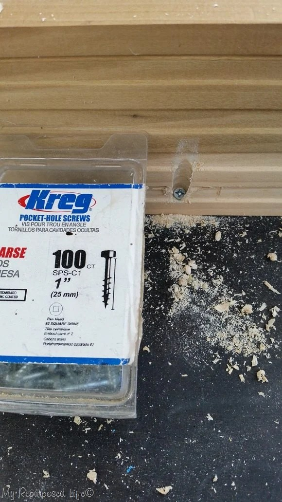 kreg 1 inch pocket hole screws