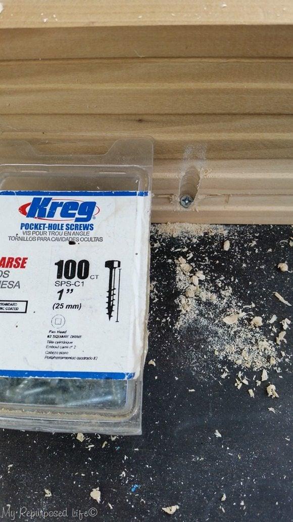 kreg 1 inch pocket hole screws