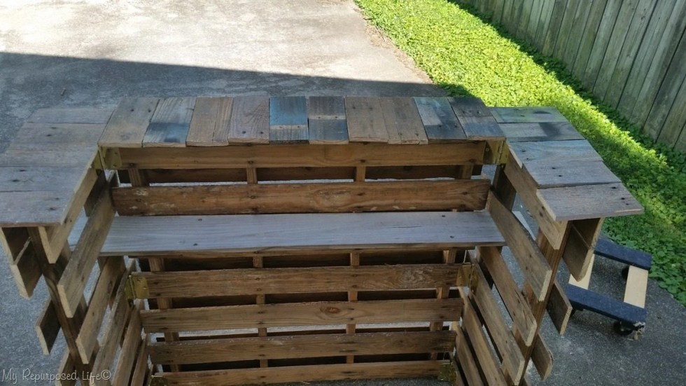 pallet bar pallet board top failure
