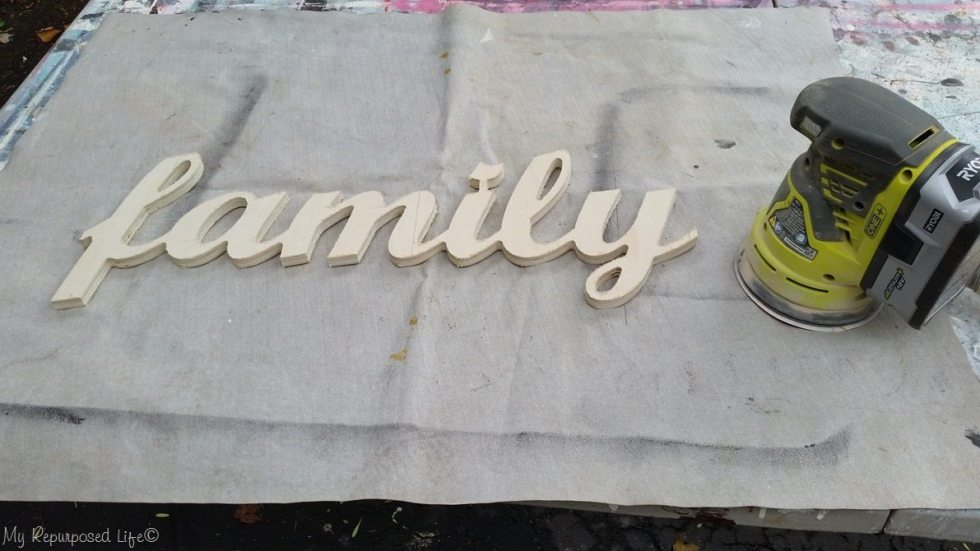 sand family sign