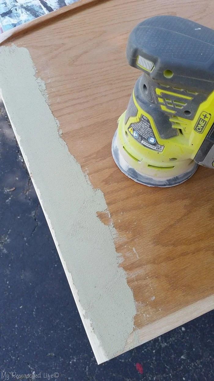 sand wood filler