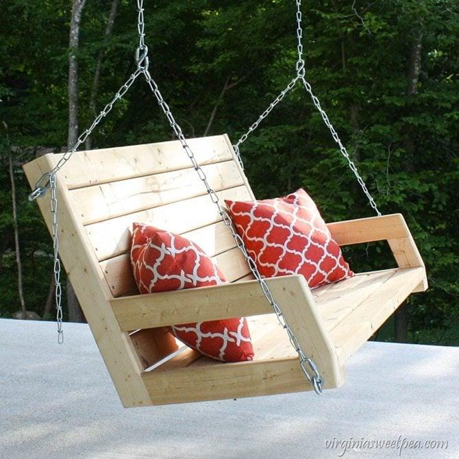 DIY 2x4 swing