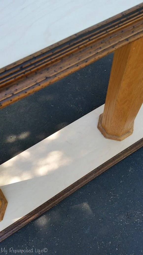 picture frame molding table trim