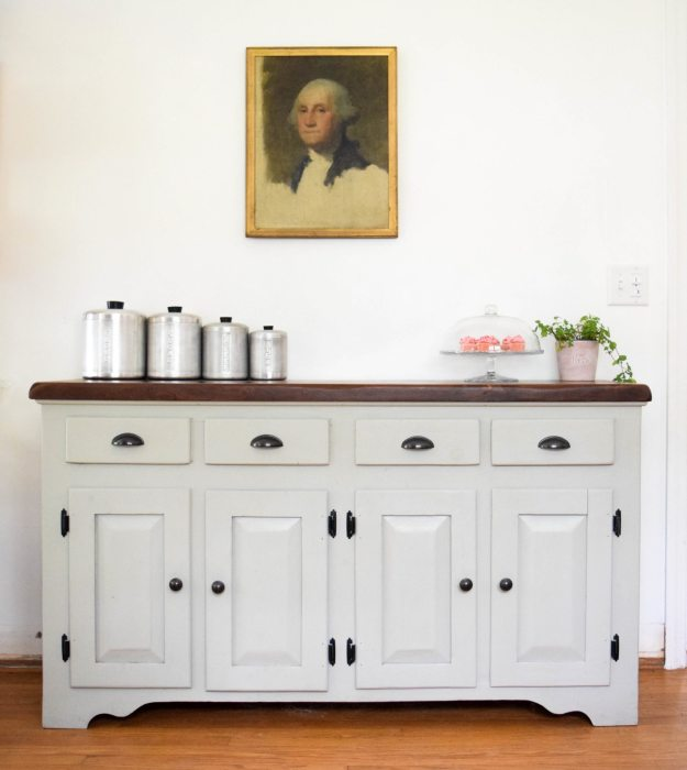 Vintage Buffet Transformation