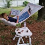 How to make a Drop Cloth Hammock