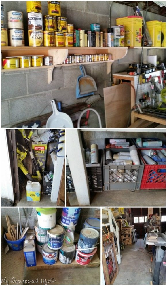 wood shop organization