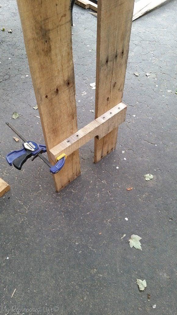 irwin quick clamp for bottom shelf brace