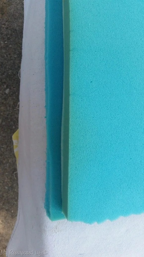 two layers memory foam