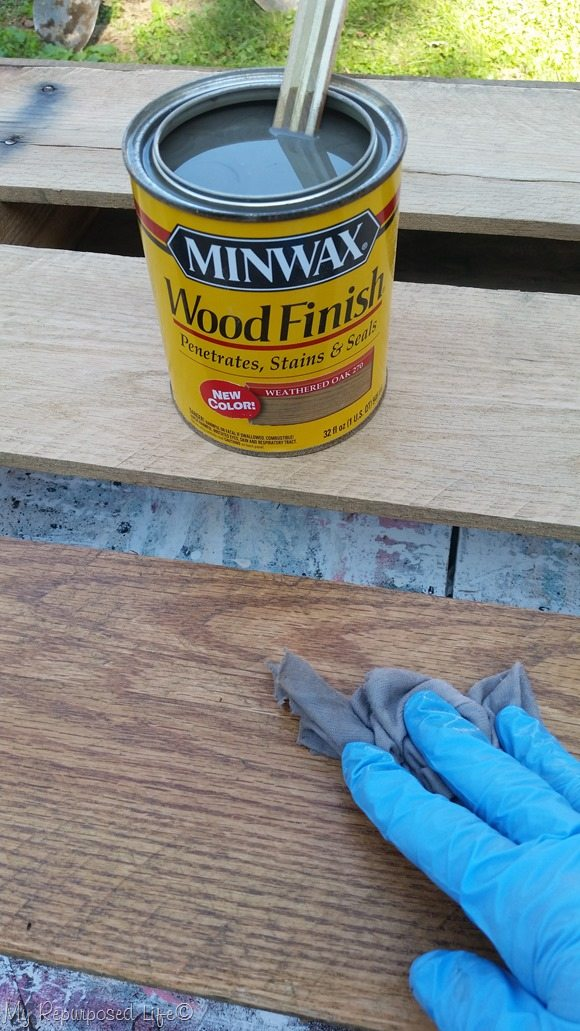 minwax weathered gray oak stain