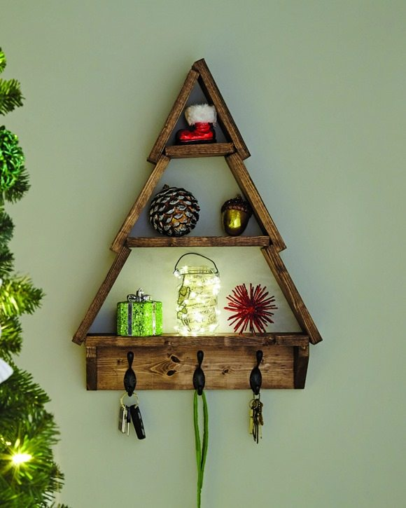 Holiday Tree Shelf Home Depot