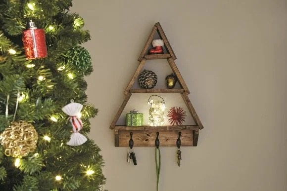 Holiday Tree Shelf