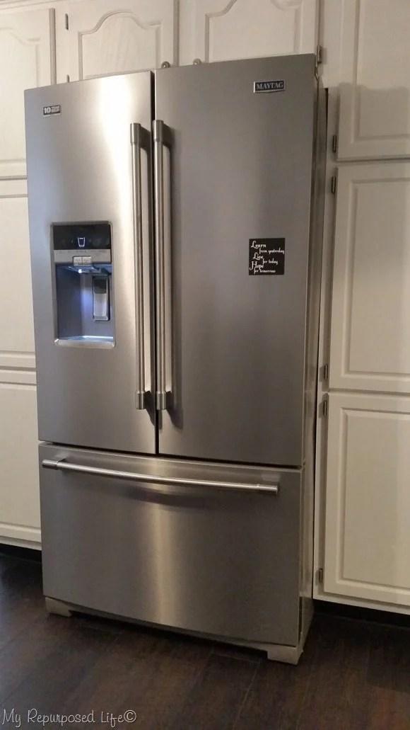 Maytag Fridge NEW kitchen floor