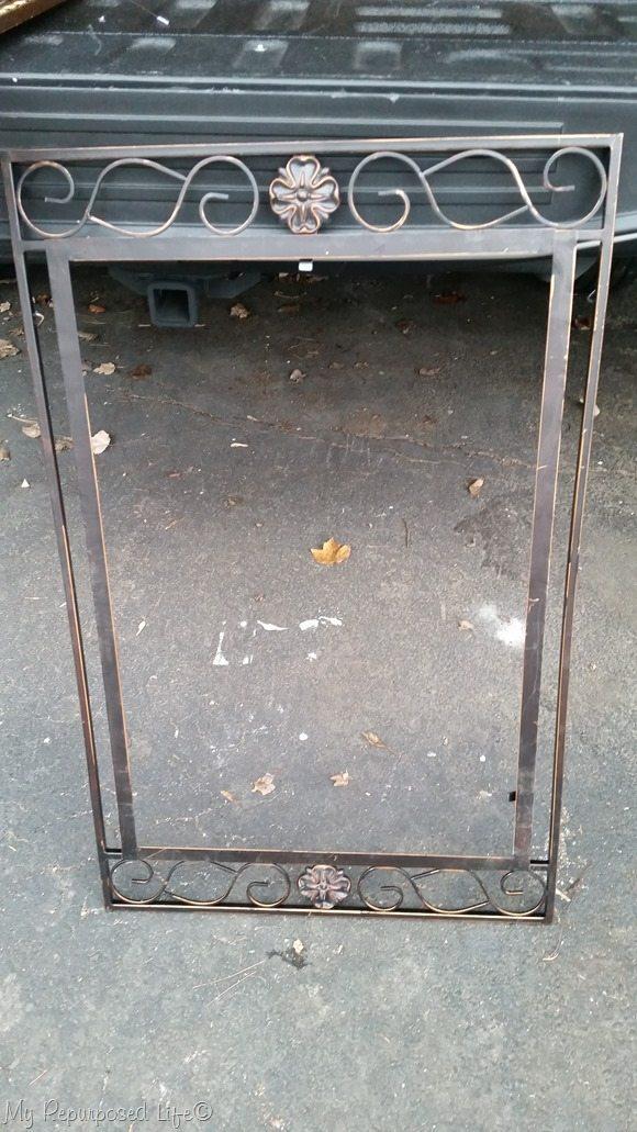 free metal mirror frame