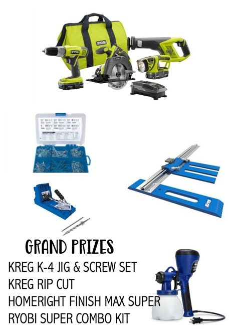 clean up your act grand prizes