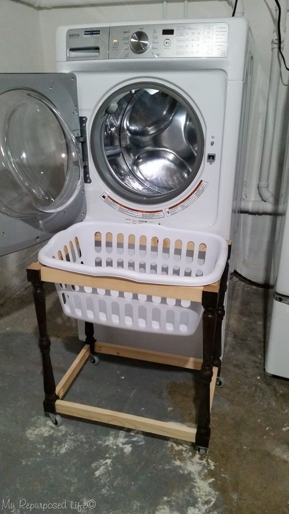 test run of laundry cart