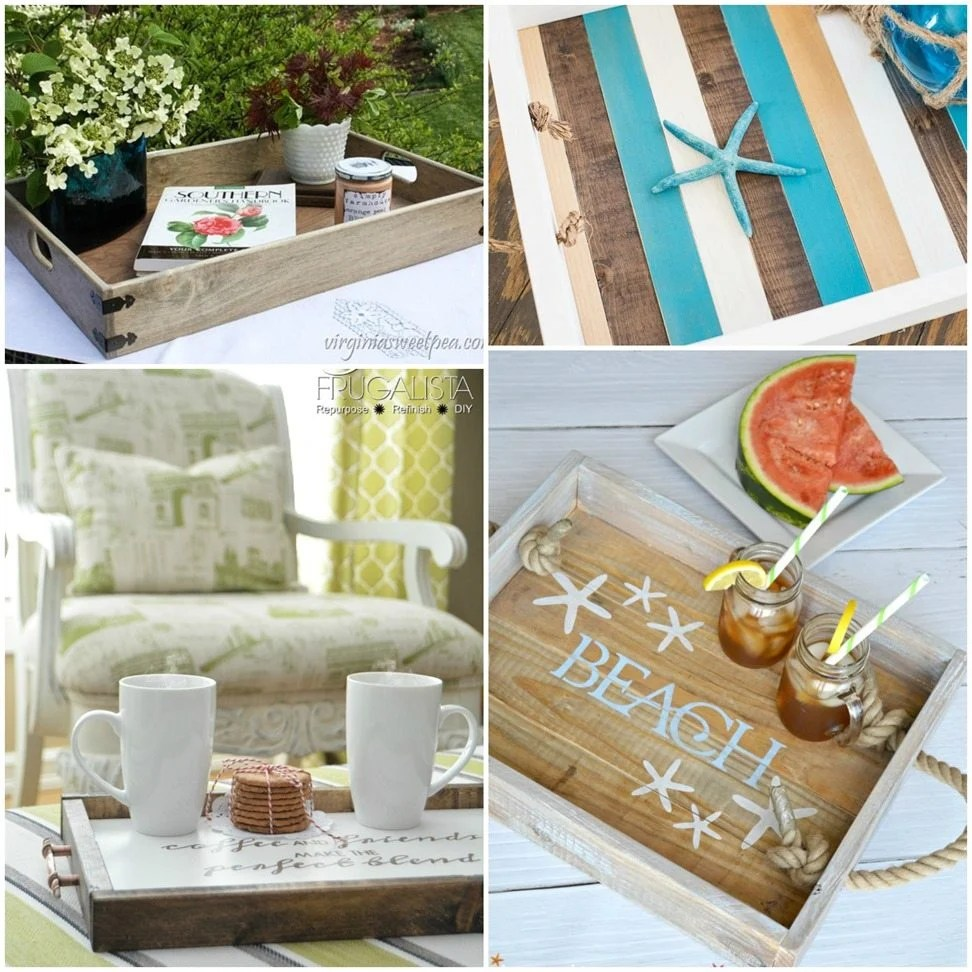 Farmhouse & Coastal Trays