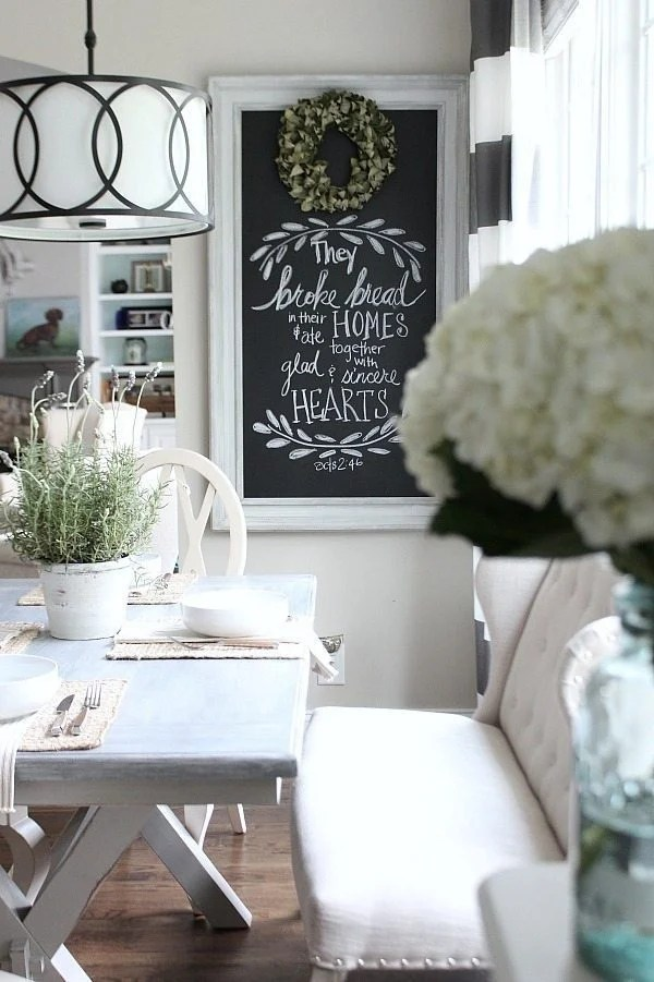 Farmhouse-dining-space-with-painted-x-base-table-from-Better-Homes-and-Gardens-at-Walmart-line-of-furniture