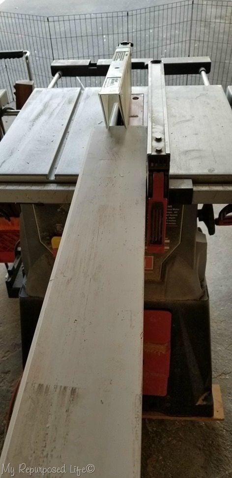 rip trim boards