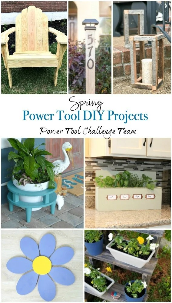 Spring-Power-Tool-Projects