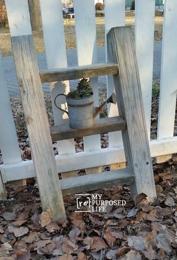 diy-rustic-ladder-plant-display-MyRepurposedLife.com_