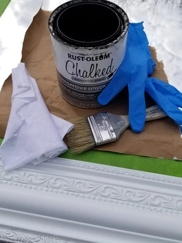 materials for glazing mirror frame