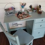 Craft Desk Makeover