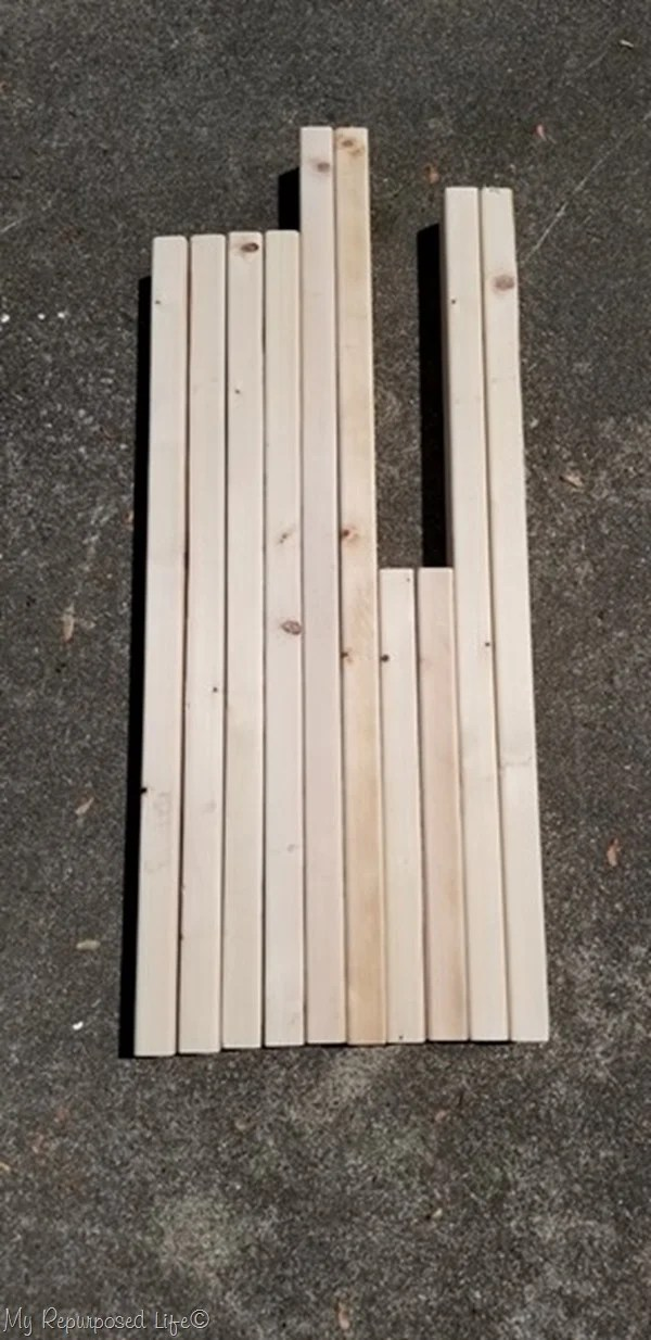 materials for pallet table